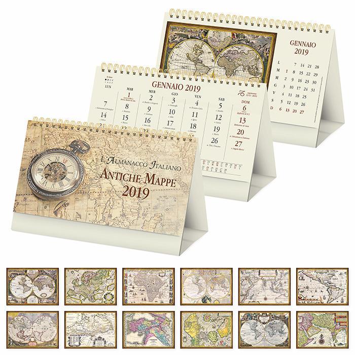 Calendario Antico.Personalizzazione Online Calendario Antiche Mappe Ricamo E