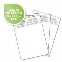 Carta intestata 90gr 4 colori